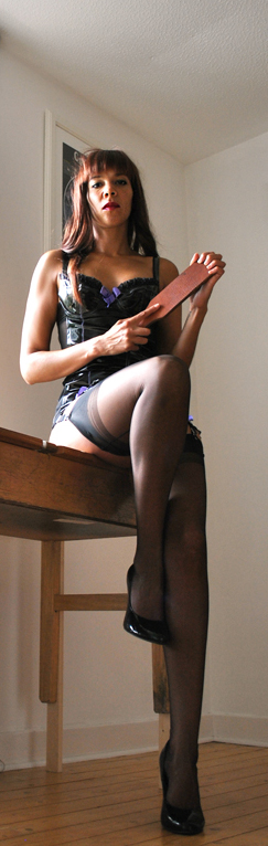 Mistress domination spanking