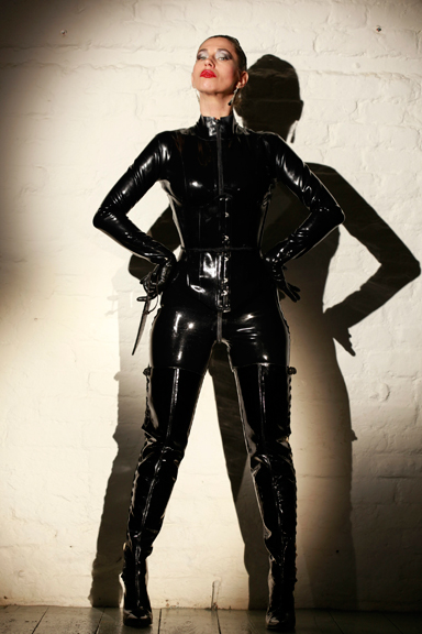 Kings-Cross-London-Catsuit-Dominatrix